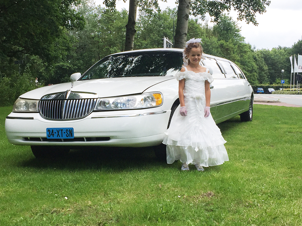 limousine-huren-communie-in2heaven